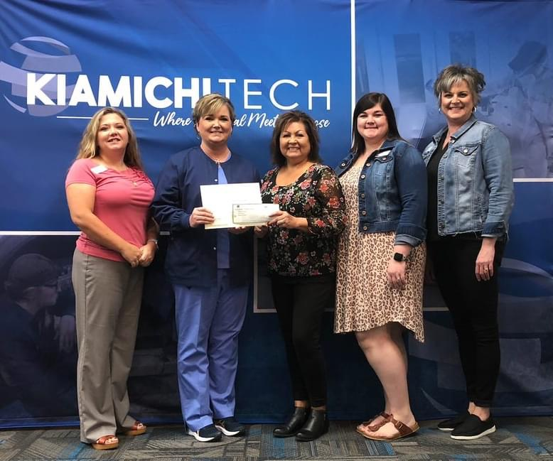 September's High School Student of the Month Sponsored by First Bank is Miranda Alexander from the Practical Nursing Program