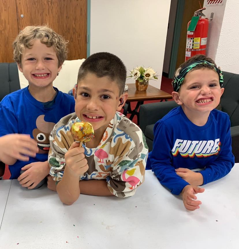 group of three boys