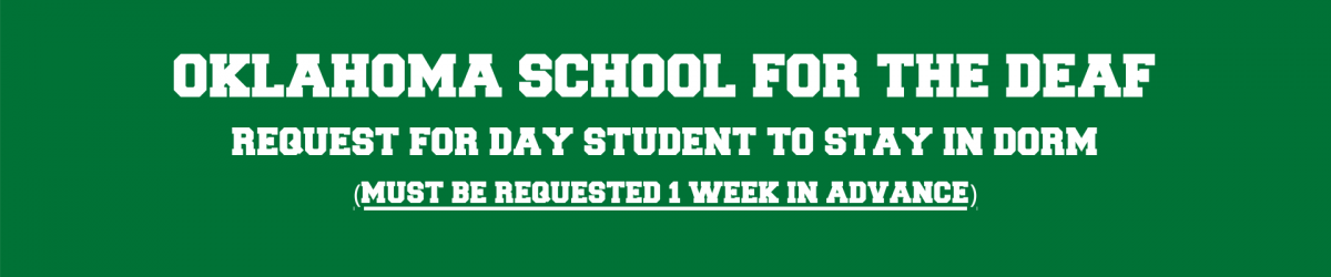 Day Student Banner
