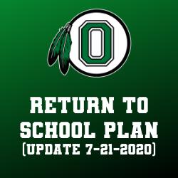 Return to School update 7-21-2020