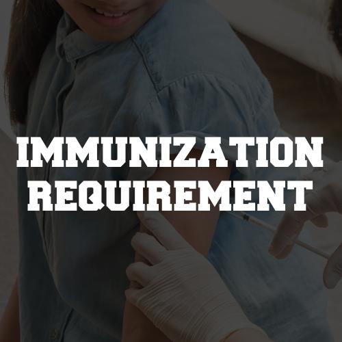 Immunization Requirement
