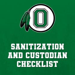 Sanitization and Custodian Checklist