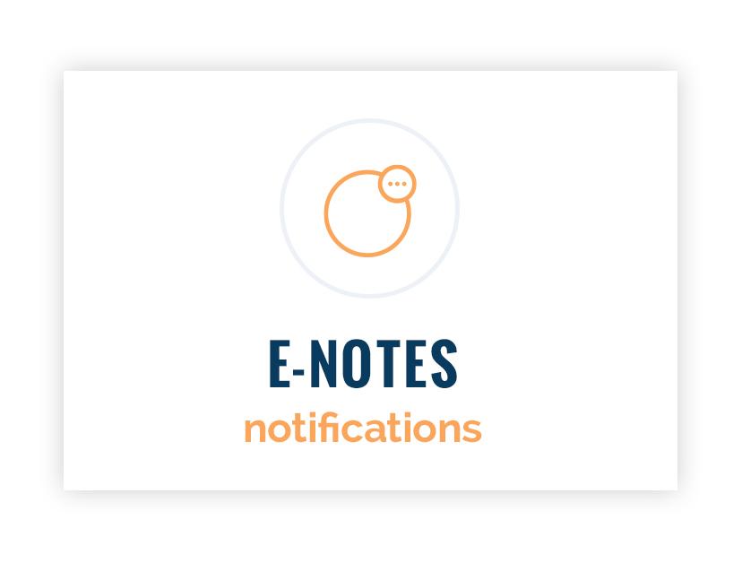 E-Notes Notifications