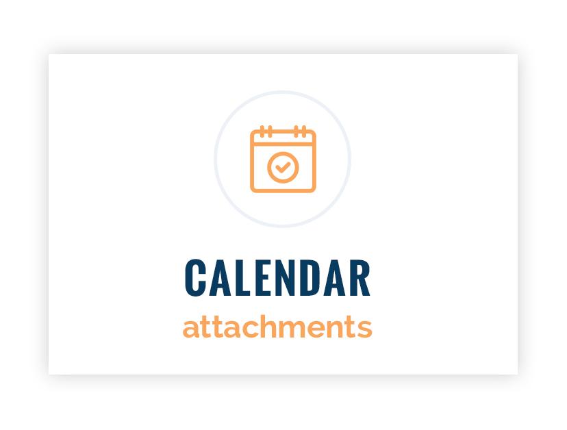 Calendar Attachments