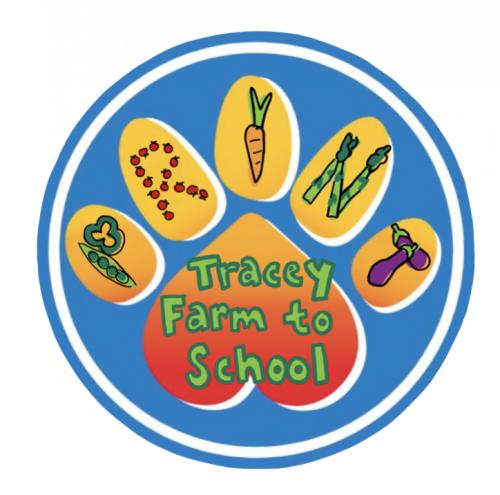 Tracey Farm to School Logo