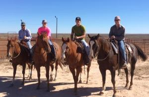 Roping at the ranch