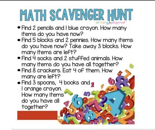West Texas Elementary School - Fun Scavenger Hunt Ideas