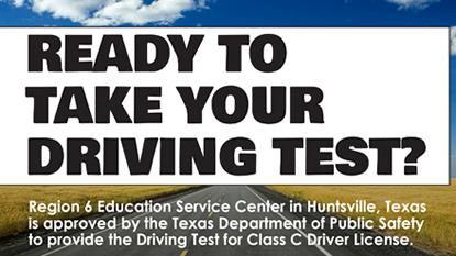 Class C Driving Test