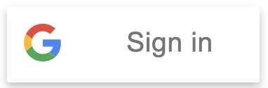 Google Single Sign-On