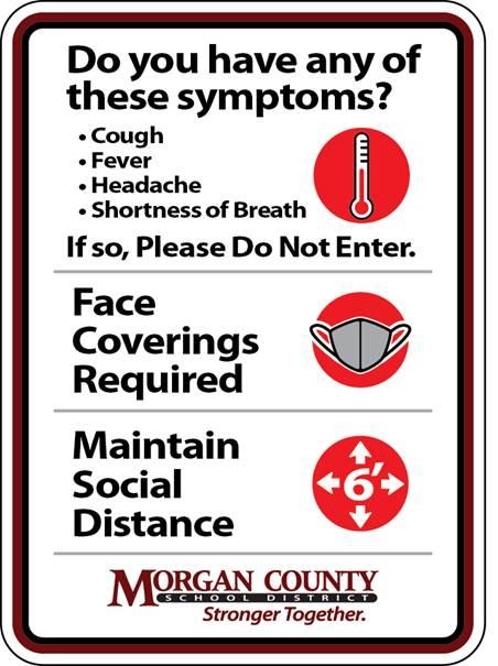 Photo of COVID symptoms