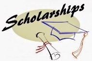 Graphic for scholarship section