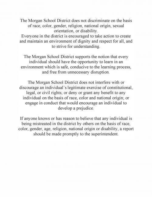 Morgan School District