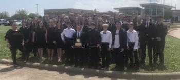 MS Honors Band Earns 1st Division Superior Rating