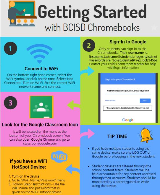 Getting Started with BCISD Chromebooks