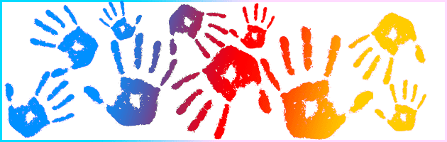 hand print graphic