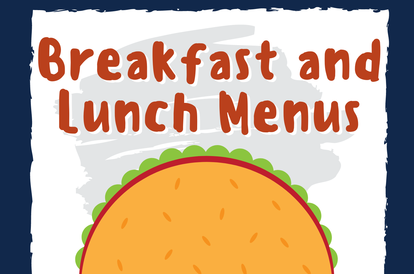 Breakfast/Lunch Menu