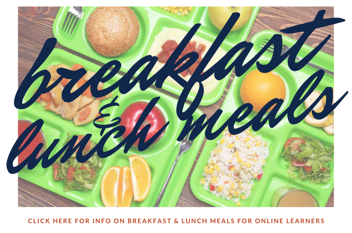 Breakfast and Lunch Meals InfoGraphic