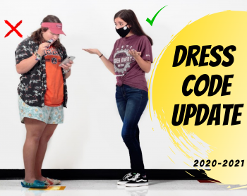 Dress Code Update for 2020-2021