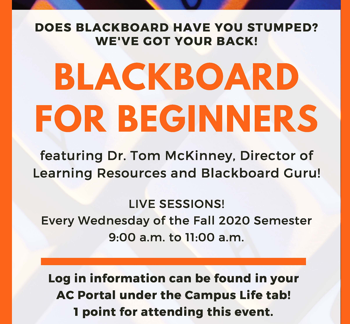 Blackboard for Beginners