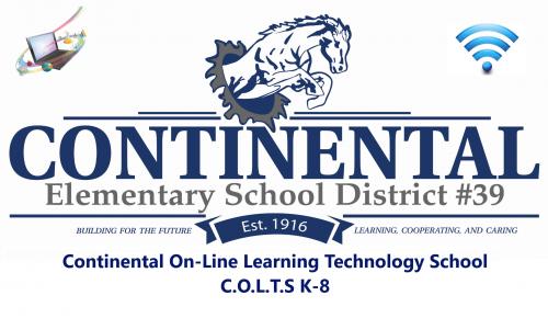COLTS k-8 Banner