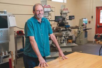 CHS Machining Instructor Honored for Outstanding Trade Teaching