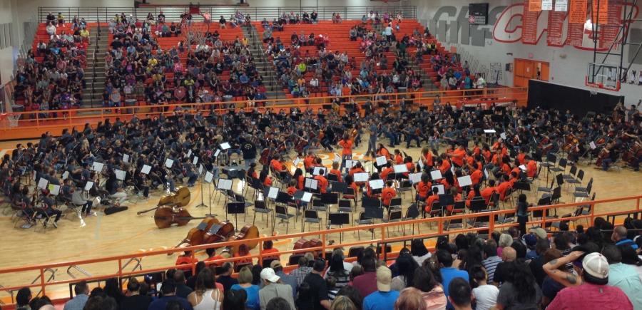 Caprock Cluster Concert