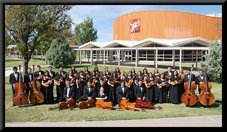 CHS varsity orchestra