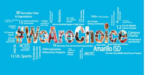 We Are Choice infographic
