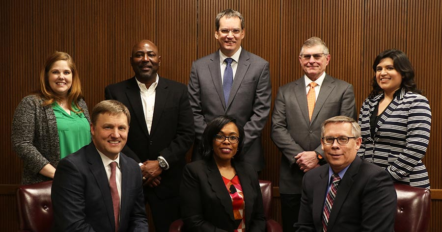 AISD Board of Trustees group photo