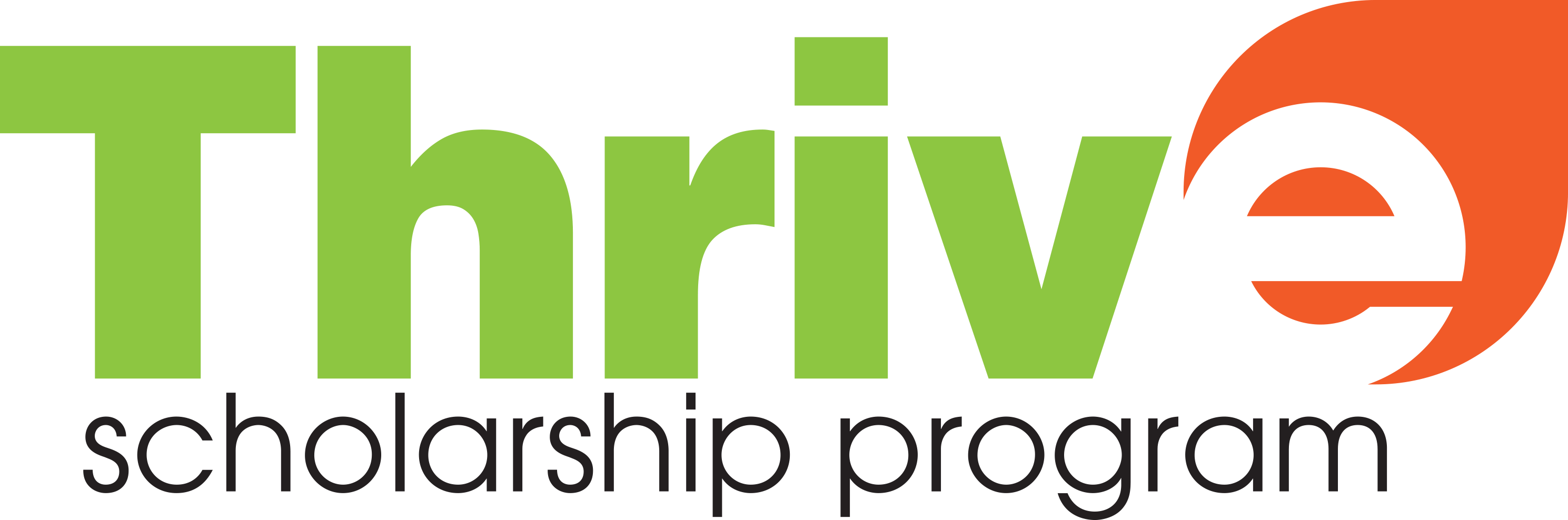 Thrive Scholarship Logo