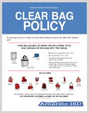 Clear Bag Policy thumbnail