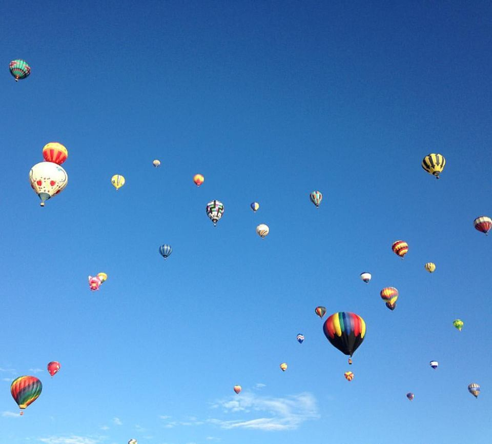 International Balloon Fiesta in Albuquerque, NM