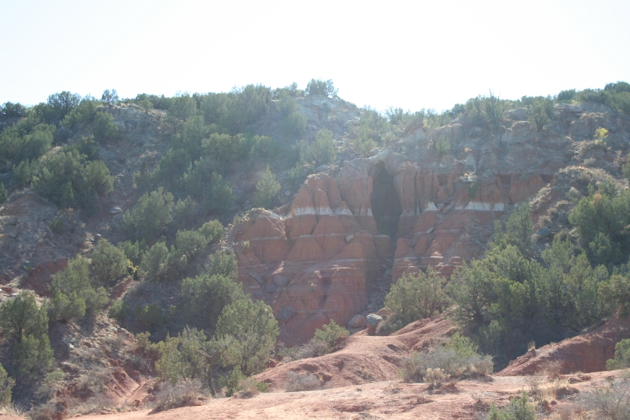 Cave at Palo Duro Canyon
