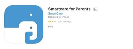 Smart Care app icon to show you what it looks like in the iTunes store. Image is not a link.