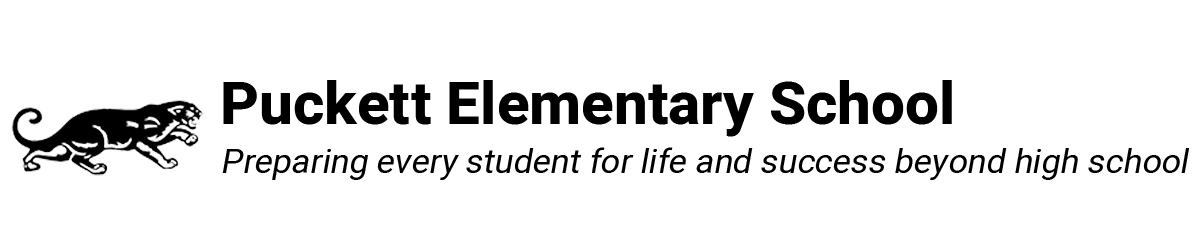 Puckett Elementary School Logo