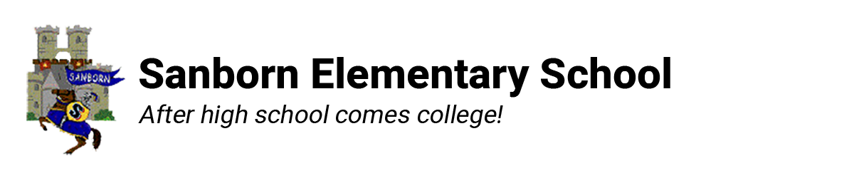 Sanborn Elementary School Logo