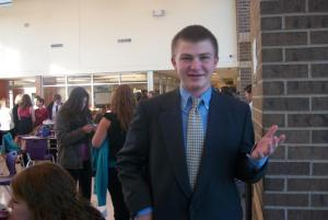 Grant:  first in novice domestic extemp!