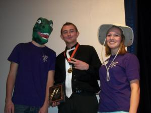 Dino boy, HI champ Michael, and Indiana Sacket!