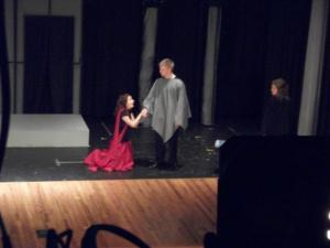 Medea pleas for mercy for herself and her children.