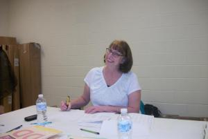 Many thanks to Paula McConnell of Marlow for assisting in the tab room . . .
