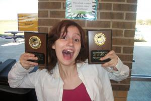 Mary:  1st in FEX and 3rd in LD.