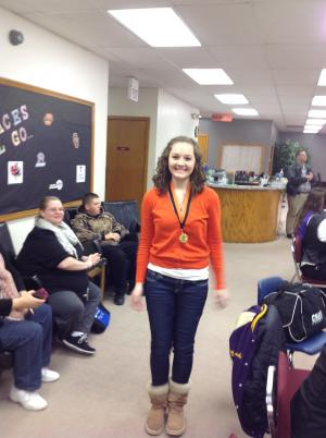 Megan-tournament champion in poetry