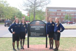 State FFA Interscholastics as OSU