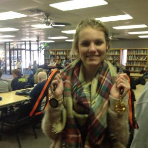 Sydney-first in original oratory, third in humorous interp, and fourth in poetry