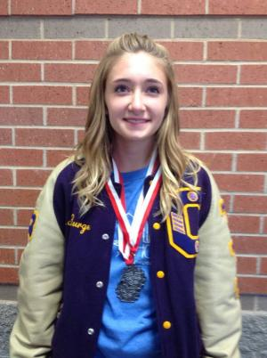 Macy-2nd in poetry and 2nd in monologue