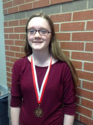Leah-3rd in LD debate