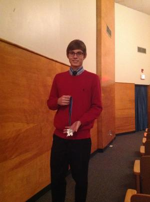 Kaleb:  2nd in poetry and a regional qualifier in domestic extemp