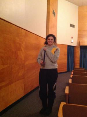Mackenzie:  1st in monologue