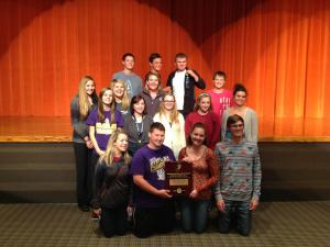 2014 Regional Champions:  One-Act Play