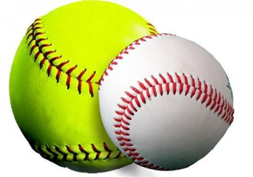 softball baseball graphic